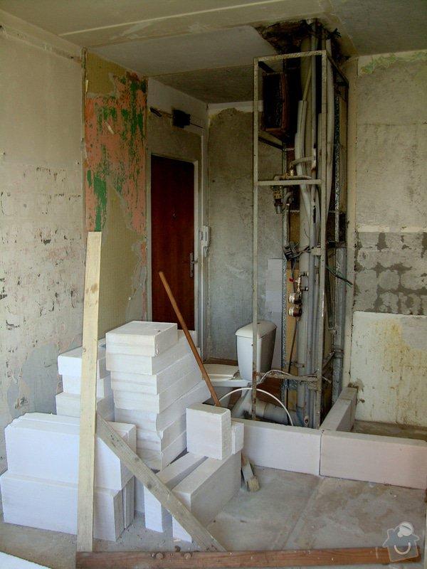 Přestavba bytového jádra: S05