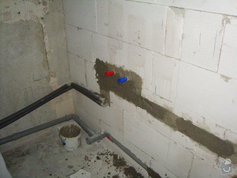 Přestavba bytového jádra: S08
