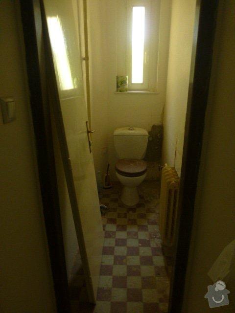 Výmalba 4 místností: WC