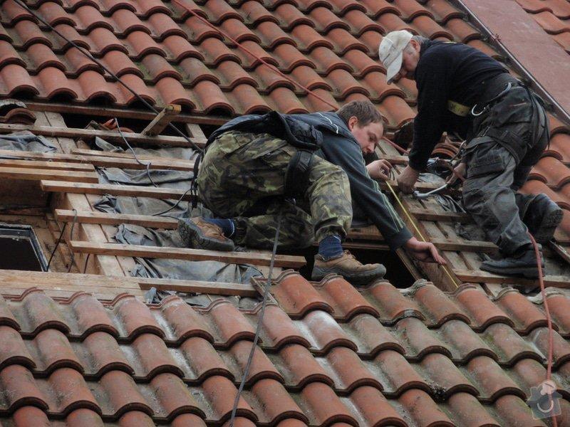 Dodávka a instalace střešních oken: P4100011