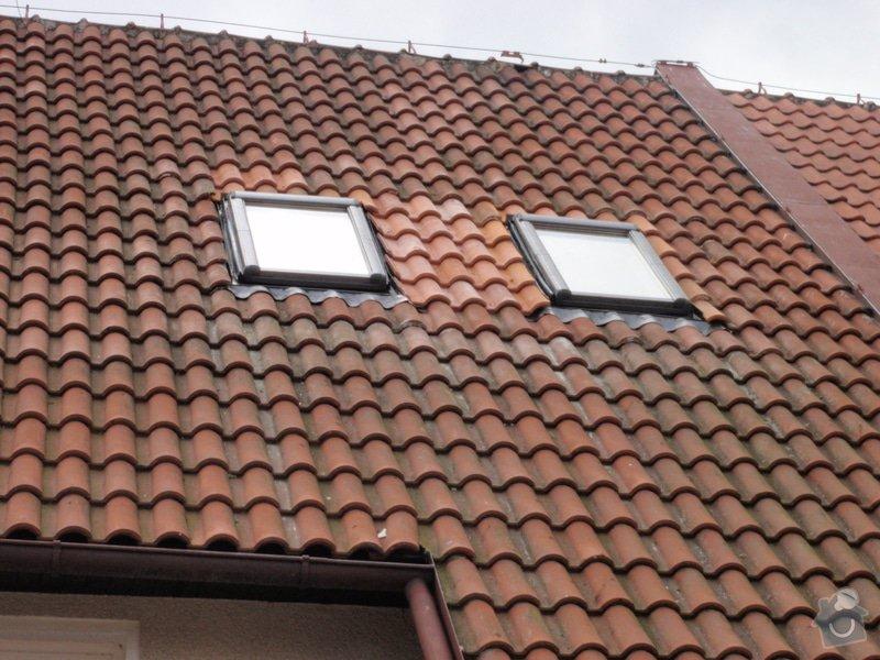 Dodávka a instalace střešních oken: P4100012