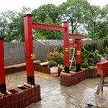Stavba zahradni japonske brany torii brana torii 13