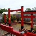 Stavba zahradni japonske brany torii brana torii 14