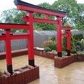 Stavba zahradni japonske brany torii brana torii 17