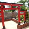 Stavba zahradni japonske brany torii brana torii 18