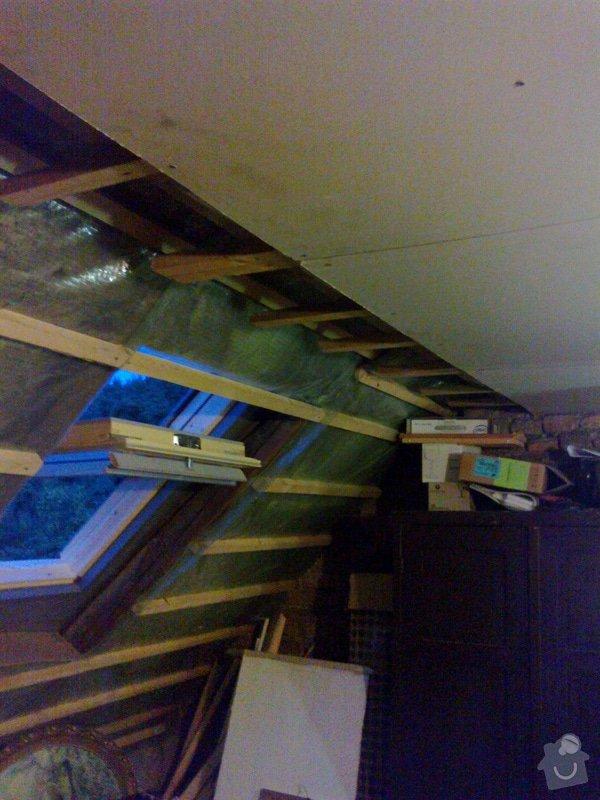 Pokoj v podkroví (sádrokarton+podlaha, atd): 27082014733