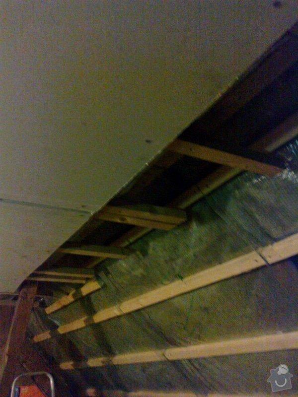Pokoj v podkroví (sádrokarton+podlaha, atd): 27082014734