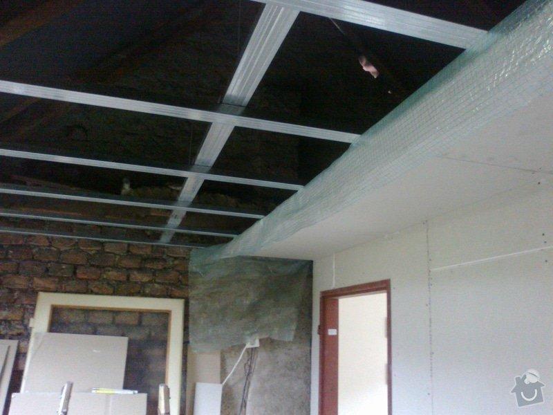 Pokoj v podkroví (sádrokarton+podlaha, atd): 13092014749