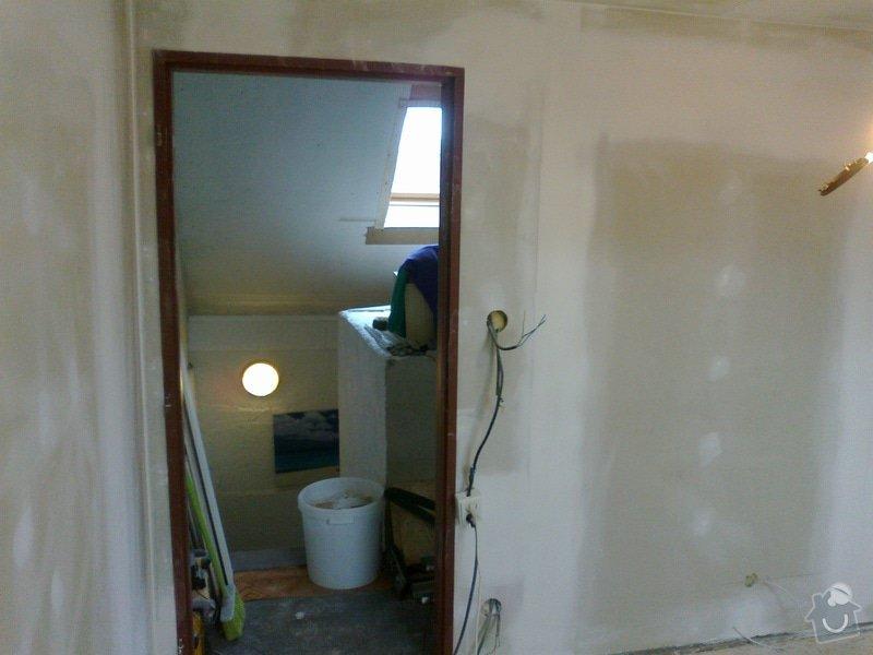 Pokoj v podkroví (sádrokarton+podlaha, atd): 27092014754
