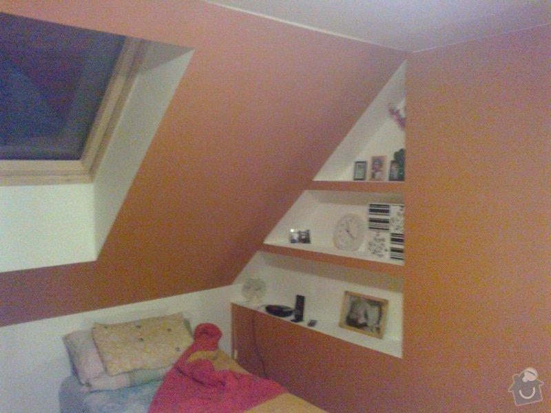 Pokoj v podkroví (sádrokarton+podlaha, atd): 28092014755