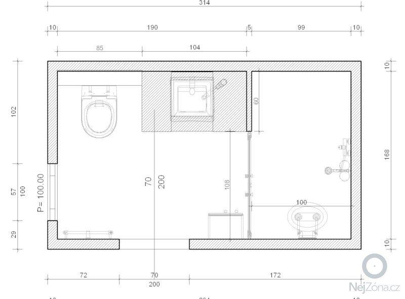 Rekonstrukce koupelny: p.Blecha_-_uprava