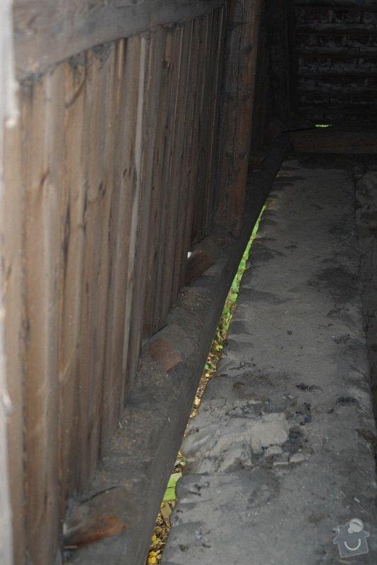 Oprava krovu stodoly: DSCF0989