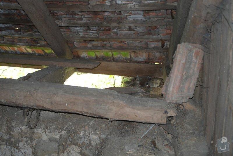 Oprava krovu stodoly: DSCF0993