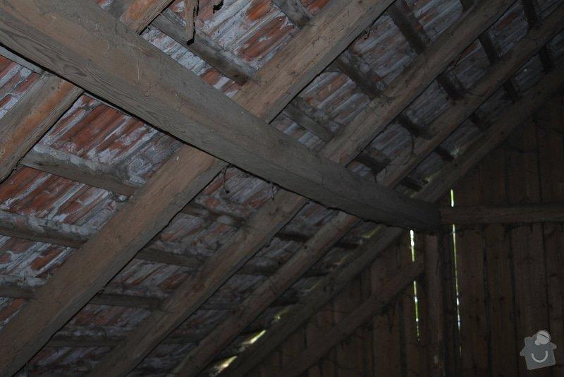 Oprava krovu stodoly: DSCF0984