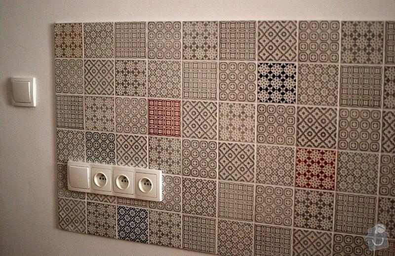 Obložení zdi za kuchyňskou linkou: 4