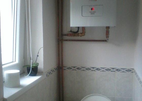Instalace krbu a udělání nových rozvodu na teplovodní topení