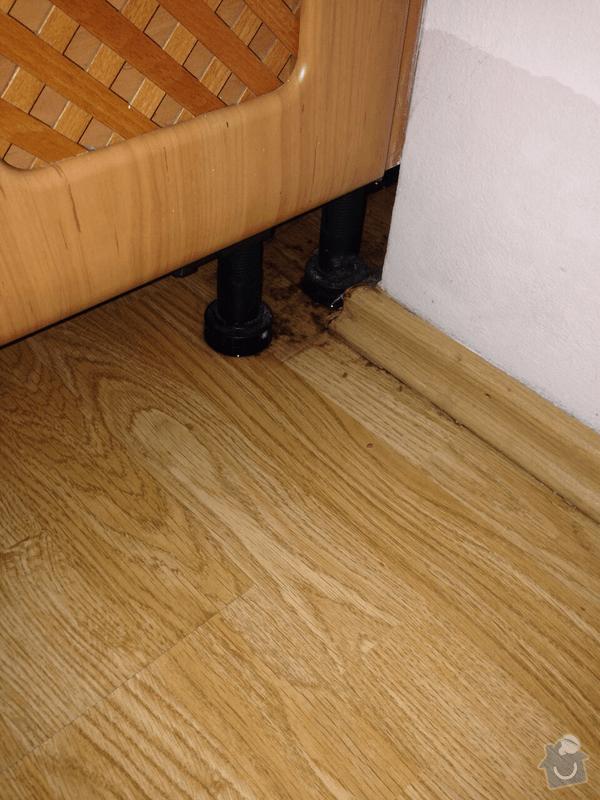 Výměna plovoucí podlahy: 3byt