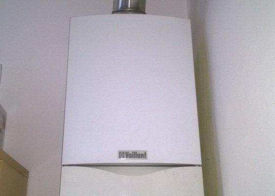 Nový plynový kondenzační kotel Vaillant včetně montáže
