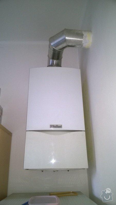 Nový plynový kondenzační kotel Vaillant včetně montáže: WP_20140825_001