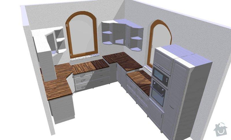 Montáž kuchyně: 1