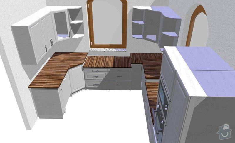 Montáž kuchyně: 2