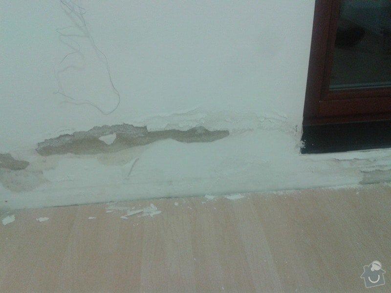 Oprava izolace balkonu + oprava vnitřních zdí po zatečení: 20141016_192303