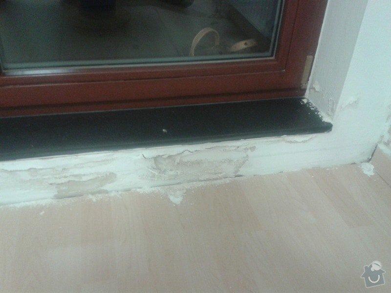 Oprava izolace balkonu + oprava vnitřních zdí po zatečení: 20141016_192311