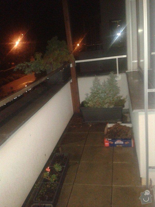 Oprava izolace balkonu + oprava vnitřních zdí po zatečení: 20141016_192410