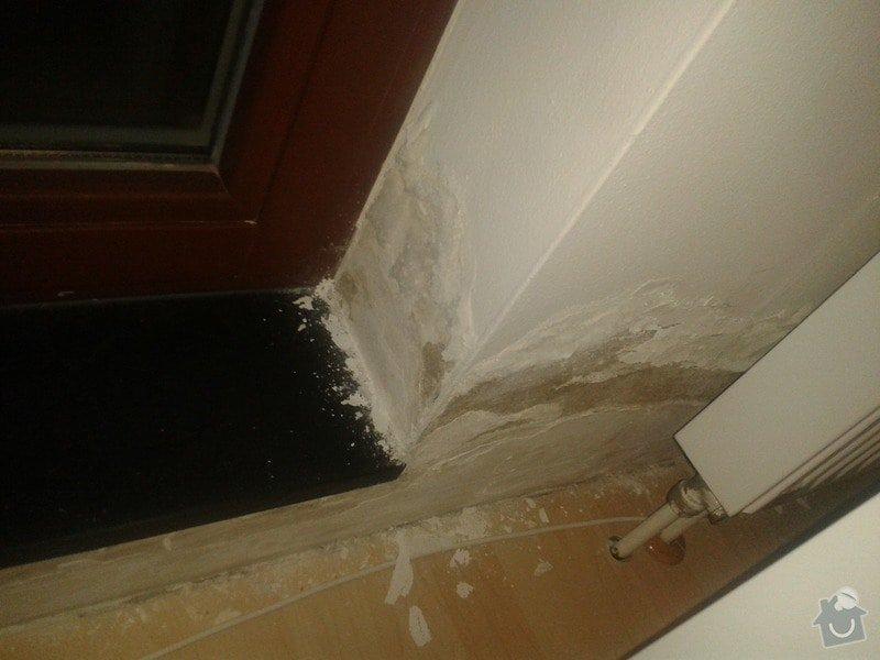 Oprava izolace balkonu + oprava vnitřních zdí po zatečení: 20141016_192455