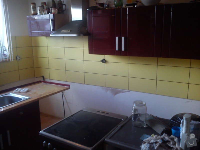 Obkladacske prace- kuchyn: Nos_3