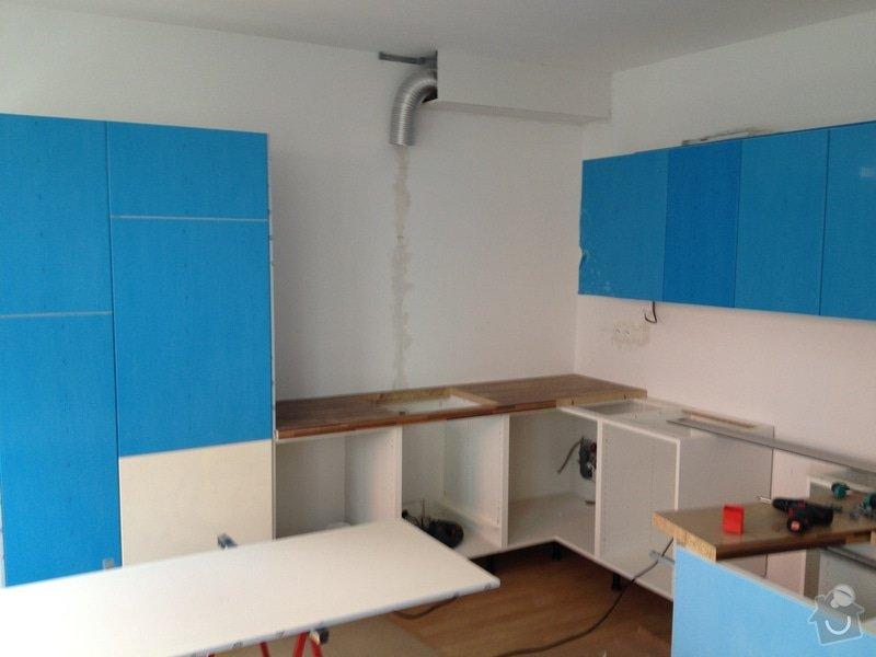 Kompletní montáž kuchyňské linky: 112