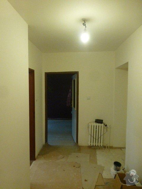 Výmalba 4 místností: P1040583