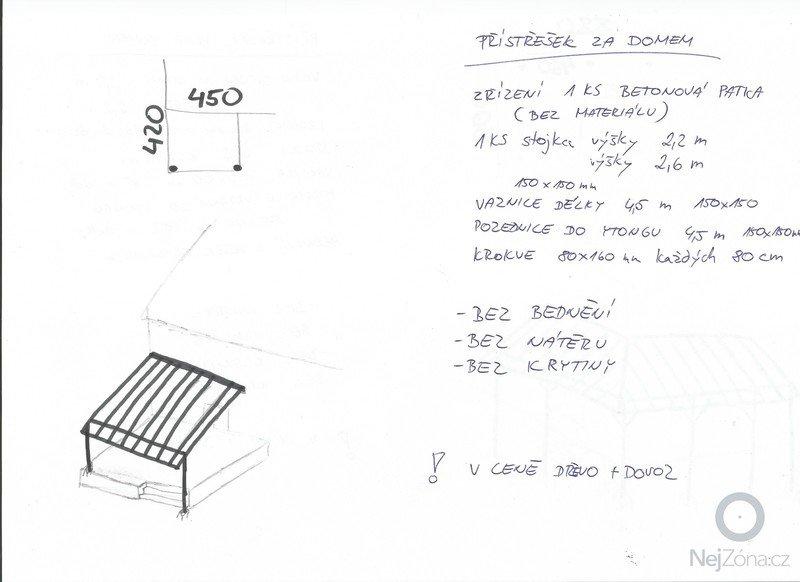 Montáž přístřešku -  2 x: Pristresek_20001