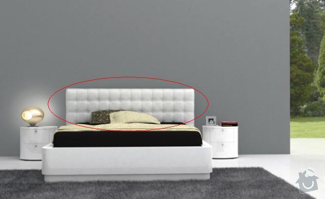 Čalouněné čelo postele: Celo_postele