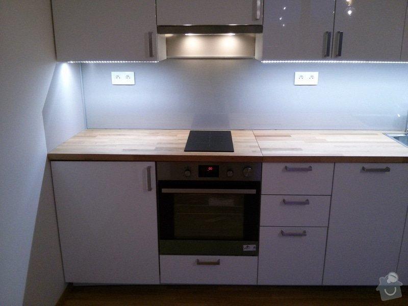 Rozvody v kuchyni včetne zapojení spotřebičů: CAM00407