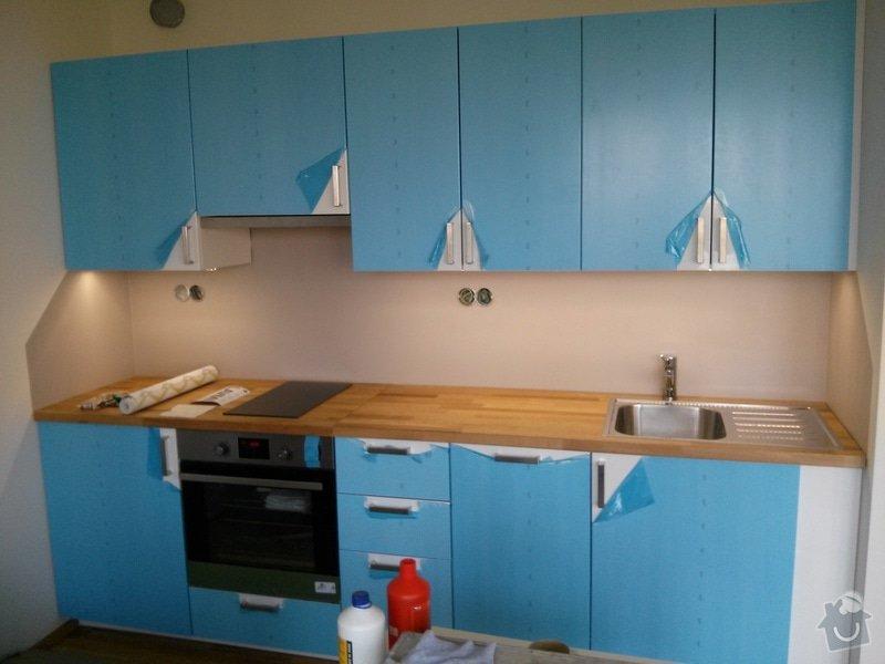 Rozvody v kuchyni včetne zapojení spotřebičů: CAM00394