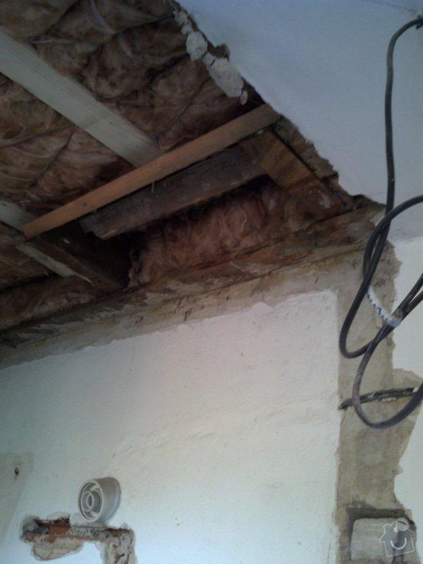 Priprava komina (vyvlozkovani) na pripojeni kondenzacniho kotle a novy komin pro obycejny kotel: 8_priprava_pro_odkoureni_kotle_2._np_smerem_na_strechu