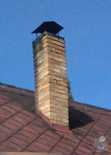 Oprava / rekonstrukce komína na chatě: fotografie2939_kopie