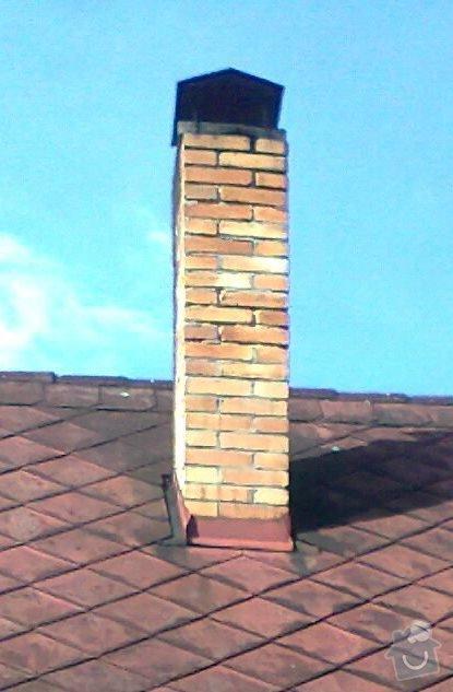 Oprava / rekonstrukce komína na chatě: fotografie2940