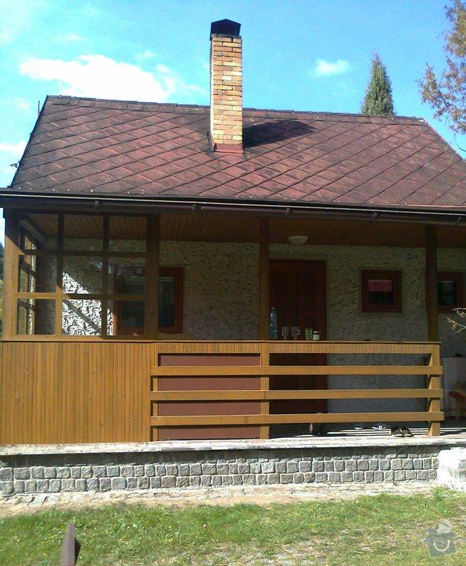 Oprava / rekonstrukce komína na chatě: fotografie2940_kopie