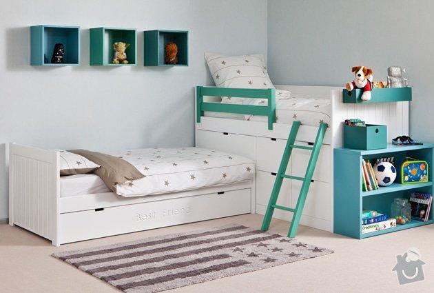 Dětská postel 90/200 bílá: zabrana_k_posteli