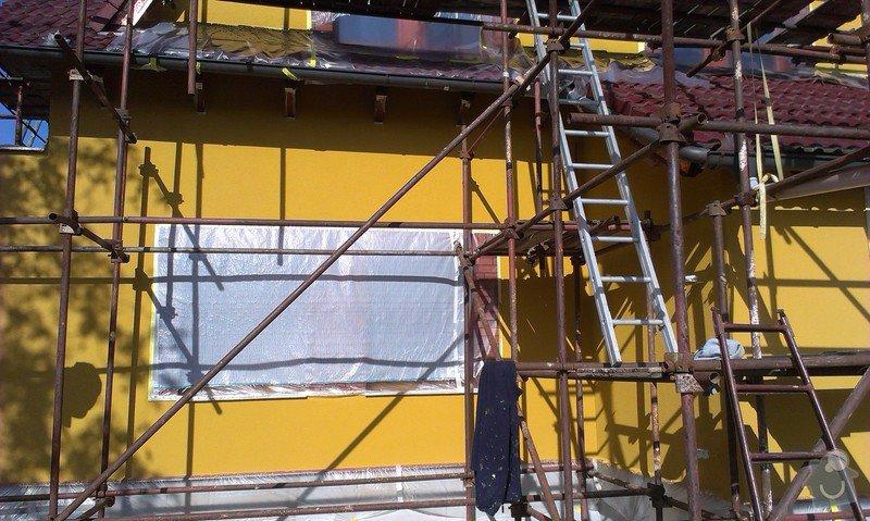 Zhotovení fasády: IMAG0884