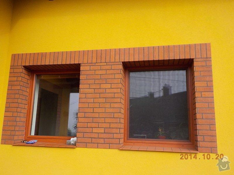 Zhotovení fasády: DSCN0322