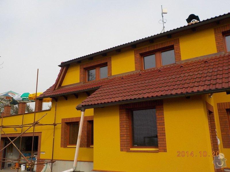 Zhotovení fasády: DSCN0323