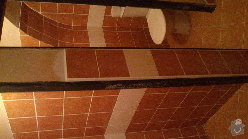 Rekonstrukce záchodů - šipkový bar: DSC_0403