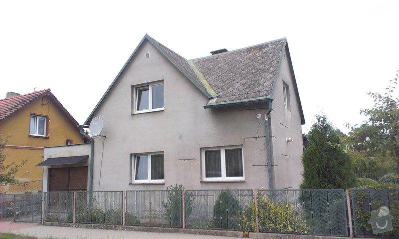 Zhotovení zateplovací fasády rodinného domu.: IMAG0810