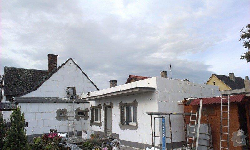 Zhotovení zateplovací fasády rodinného domu.: IMAG0822