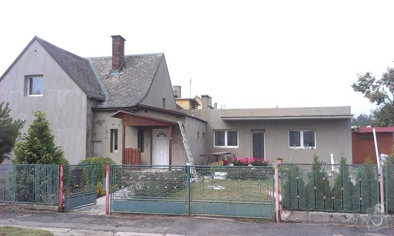 Zhotovení zateplovací fasády rodinného domu.: IMAG0827