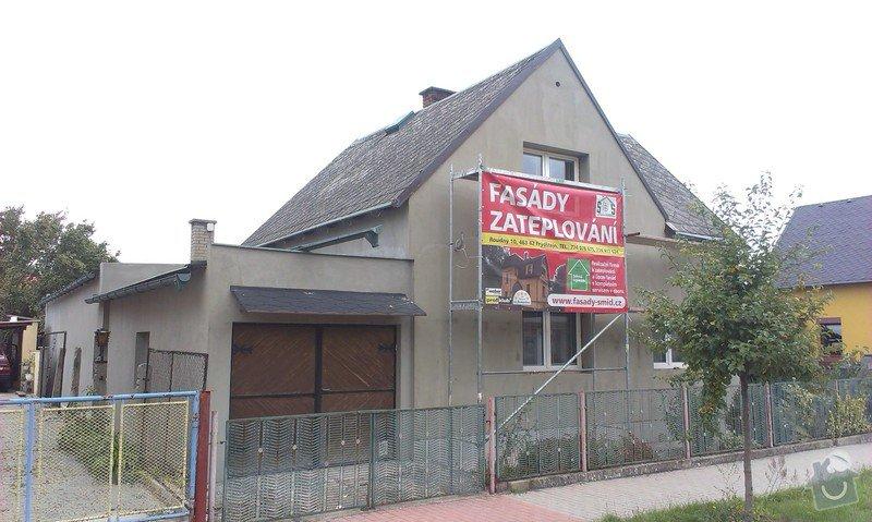 Zhotovení zateplovací fasády rodinného domu.: IMAG0828