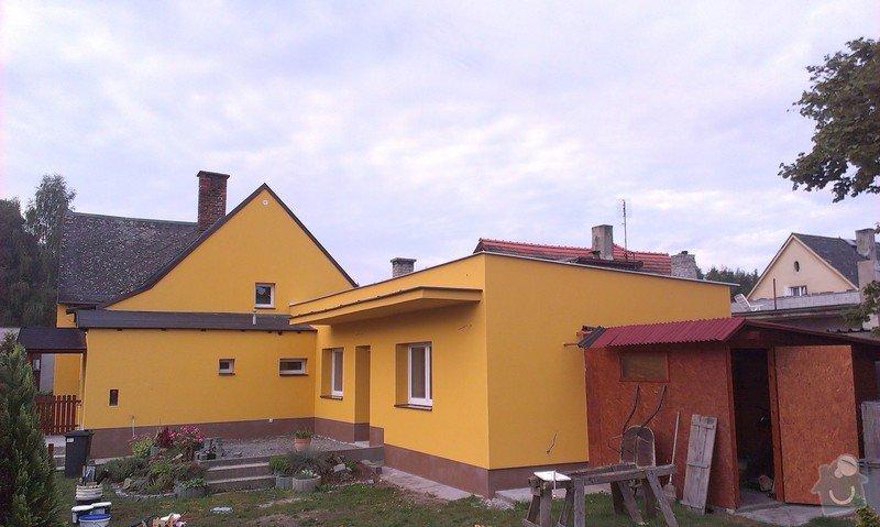 Zhotovení zateplovací fasády rodinného domu.: IMAG0845